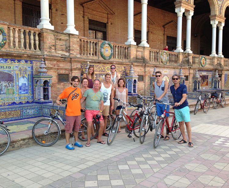 Tour à vélo par Cadix