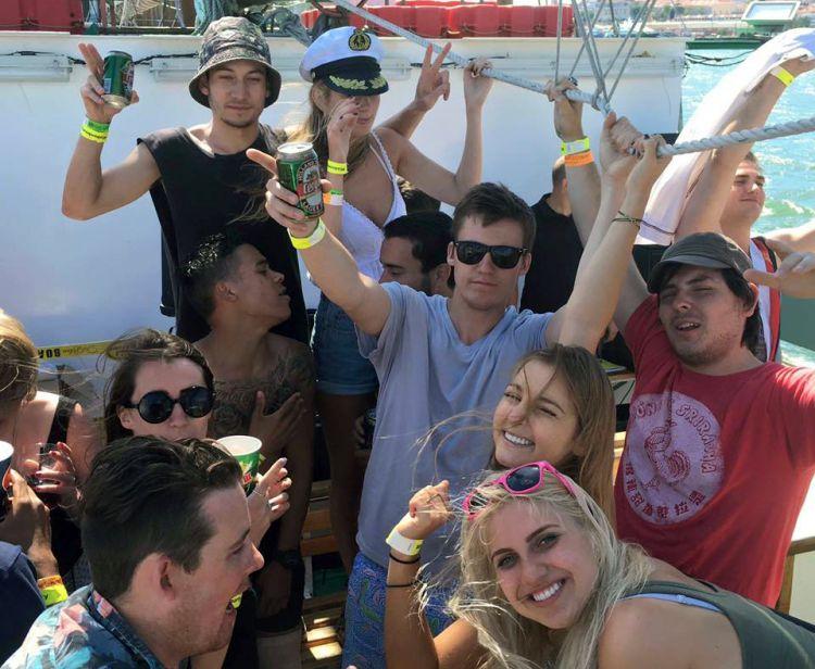 Best Booze Cruise in Lisbon