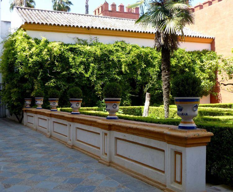 English Tour inside the Royal Alcazar Seville