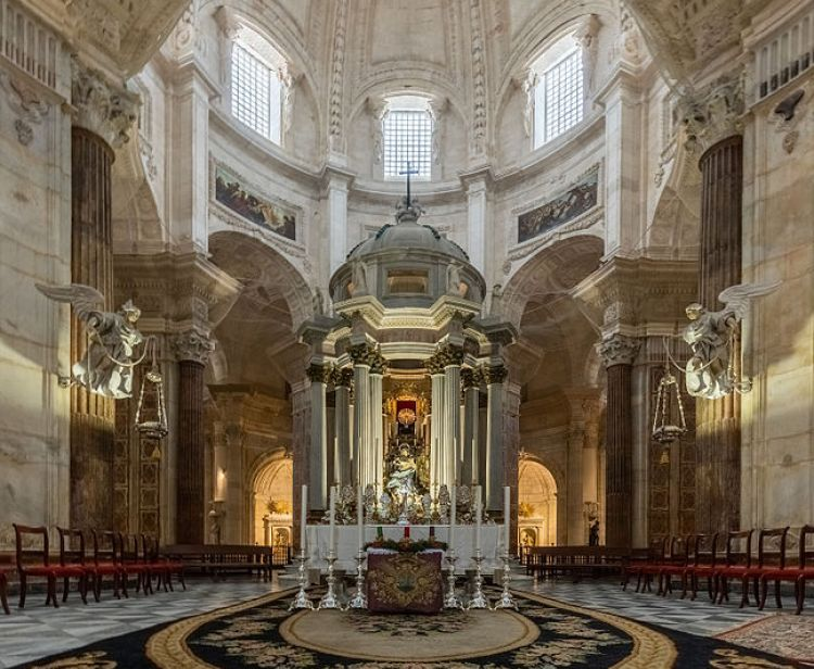 Guided tour of Cadiz Cathedral
