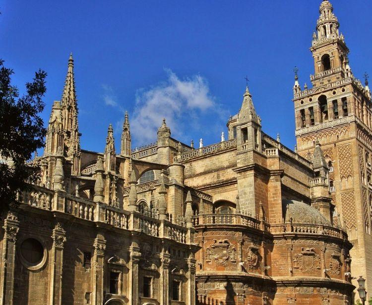 Cathedral, Giralda and Bullring Russian
